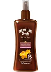 Hawaiian Tropic Protective Dry Spray Oil (SPF15) 200 ml