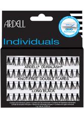Ardell Individuals Duralash Knot Free Double Flares Long Black Künstliche Wimpern 1.0 pieces