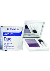 MAVALA - Mavala Satin Lidschatten Puder Duo, Smoky Purple - Lidschatten