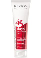 REVLON - Revlon Revlonissimo 45 Days Brave Reds 2 in 1 Shampoo & Conditioner 275 ml - SHAMPOO