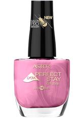 Astor Make-up Nägel Perfect Stay Gel Shine Nagellack Nr. 212 Satin Purple 12 ml