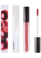 KORRES - KORRES Morello Voluminous Lipgloss 16 Blushed Pink, 4 ml - LIPGLOSS