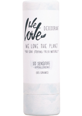 WE LOVE THE PLANET - We love the planet Produkte We love the planet Produkte Deo Stick Papertube - So Sensitive 65g Deodorant Stift 65.0 g - Roll-On Deo