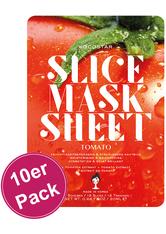 KOCOSTAR - Kocostar Slice Mask Tomato 10er Pack - Tuchmasken