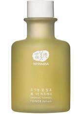 WHAMISA Produkte Organic Flowers Toner Refresh 155ml Gesichtswasser 155.0 ml