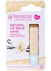 benecos Produkte Lip Balm - Vanille 4.8g Lippenbalm 4.8 g