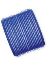 Efalock Professional Friseurbedarf Lockenwickler 51 mm - 78 mm Durchmesser Haftwickler Groß Durchmesser 78 mm, Blau 6 Stk.