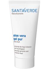 Santaverde Körperpflege Aloe Vera Gel Pur Ohne Duft Körpergel 50.0 ml