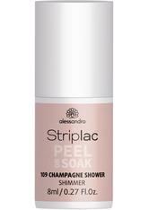 Alessandro Striplac Peel or Soak - Vegan Nagellack 8 ml Nr. 109 - Shimmer Shower