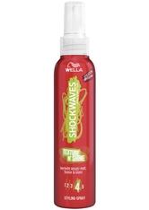 Wella Shockwaves Haare Styling Texture N'Shine Styling Spray 150 ml
