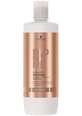 SCHWARZKOPF - Schwarzkopf Professional Haarpflege Blondme Keratin Restore Bonding Shampoo All Blondes 1000 ml - Shampoo