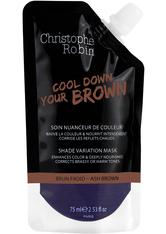 Christophe Robin Shade Variation Care Shade variation mask pocket Ash brown Haarfarbe 75.0 ml