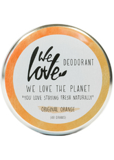 We Love The Planet Körperpflege Deodorants Original Orange Deodorant Creme 48 g