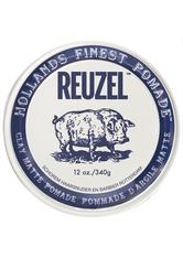 REUZEL - Reuzel Haarpomade »Clay Matte Pomade«, flexibler Halt & mattes Finish, 340 g - Haarwachs & Pomade