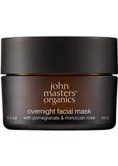 John Masters Organics Pomegranate & Moroccan Rose Overnight Facial Mask Gesichtsmaske 90 g