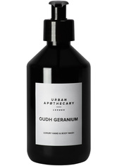Urban Apothecary London Oudh Geranium Luxury Hand & Body Wash Flüssigseife  300 ml
