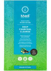 Khadi Naturkosmetik Produkte Haarmaske - Deep Charcoal Cleanse 50g Haarmaske 50.0 g