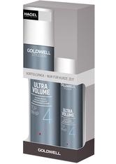GOLDWELL - Aktion - Goldwell StyleSign Ultra Volume Top Whip 300 ml + 100 ml Haarpflegeset - Haarschaum
