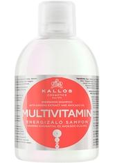 Kallos Cosmetics - Haarshampoo - KJMN Multivitamin Energizing Shampoo with Ginseng Extract & Avocado Oil - 1000ml