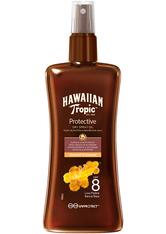 Hawaiian Tropic Protective Dry Spray Oil (SPF8) 200 ml