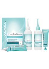 Goldwell Evolution Perm 2 Set = coloriertes Haar oder Strähnen bis 50% Dauerwellenbehandlung