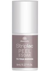 Alessandro Striplac Peel or Soak Nagellack 8 ml Nr. 115 - Yoga Morning