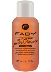 Faby Acetone Free Polish Remover 125 ml Nagellackentferner
