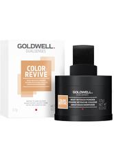 GOLDWELL - Goldwell Dualsenses Color Revive Ansatzkaschierpuder Mittel- bis Dunkelblond Kaschiert Grau, 3,7 g - Haarpuder