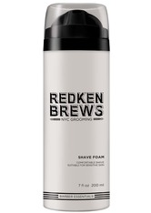 Redken Face Brews NYC Grooming Shave Foam Räucherobjekte 200.0 ml