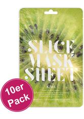 KOCOSTAR - Kocostar Slice Mask Sheet Kiwi 10er Pack - TUCHMASKEN