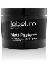 LABEL.M - label.m STYLING PASTE MATT 120ml - HAARGEL & CREME