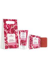 LaNature Geschenkset in Grifftasche klein Pomegranate HC/SS Pflegeset