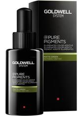 Goldwell @Pure Pigments Matte Green 50 ml Haarfarbe