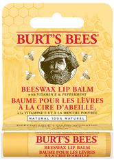Burt's Bees Pflege Lippen Lip Balm Stick kartoniert Beeswax & Peppermint 4,25 g
