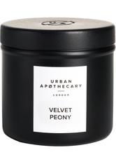 Urban Apothecary Luxury Iron Travel Candle Velvet Peony Kerze 175.0 g
