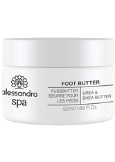 Alessandro Spa Foot FUSSBUTTER Fußcreme 50 ml