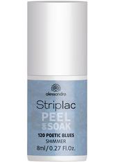 Alessandro Striplac Striplac Peel Or Soak Poetic Blues - VEGAN - Nagellack 8.0 ml