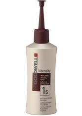 Goldwell Vitensity Dauerwelle 1s - für leicht geschädigtes Naturhaar und Naturhaar mit Strähnen bis max. 30 %, Portionsflasche 80 ml