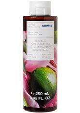 KORRES Reinigung & Pflege GINGER LIME Revitalisierendes Duschgel Duschgel 250.0 ml