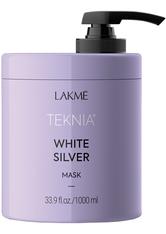LAKME - Lakmé White Silver Lakmé White Silver Teknia  White Silver Mask Haarmaske 1000.0 ml - Conditioner & Kur