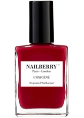 Nailberry Nägel Nagellack L'Oxygéné Oxygenated Nail Lacquer Strawberry Jam 15 ml