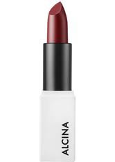 Alcina Creamy Lip Colour Cherry für dunkle Haut, dunkles Haar