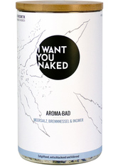 I WANT YOU NAKED - I WANT YOU NAKED Meersalz, Brennnessel & Ingwer Badezusatz 620 g - DUSCHEN & BADEN