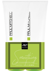 PAUL MITCHELL - Aktion - Paul Mitchell Straight Works 2 x 200 ml - Buy One, Get One 50% Off Haarpflegeset - GEL & CREME