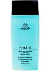 Alessandro Nail Spa mit Lavendel Nagellackentferner 120 ml