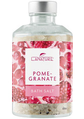 LaNature Badesalz Pomegranate im Dekoglas 250 g
