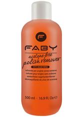 Faby Acetone Free Polish Remover 500 ml Nagellackentferner