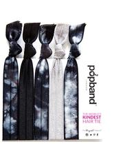 Popband London Popband Tye Dye Black-Grey-White Haarband 1.0 pieces