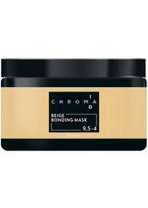 Schwarzkopf Chroma ID Bonding Color Mask 9.5-4 Beige für Beige-Effekte auf hellblonden Grundlagen, 250 ml