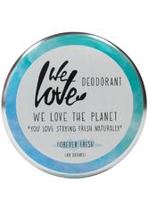 We Love The Planet Körperpflege Deodorants Forever Fresh Deodorant Creme 48 g